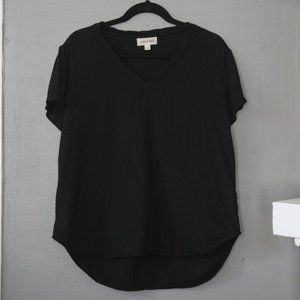 Cloth & Stone Anthropologie High/Low V-Neck Shirt